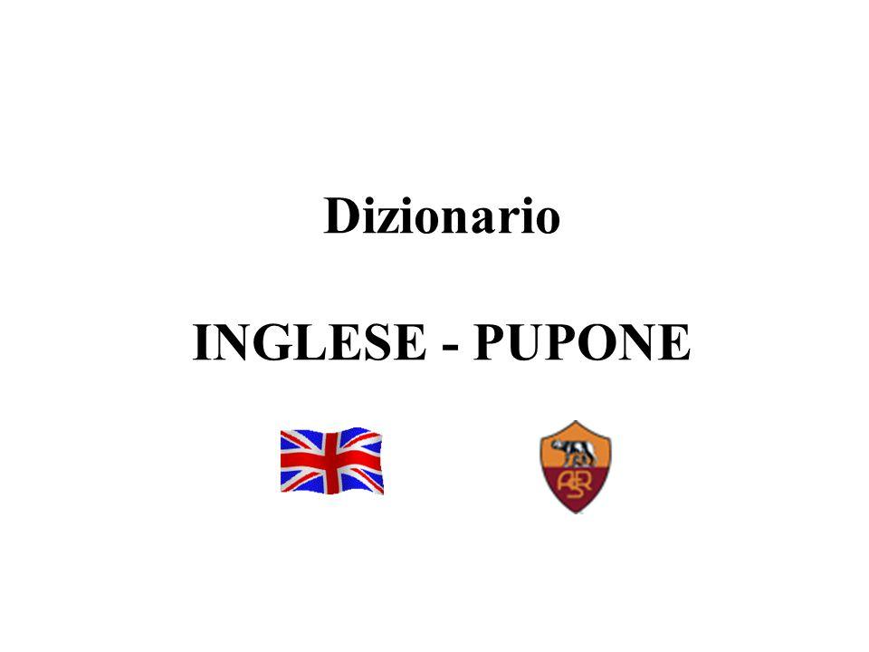 1 Dizionario INGLESE - PUPONE