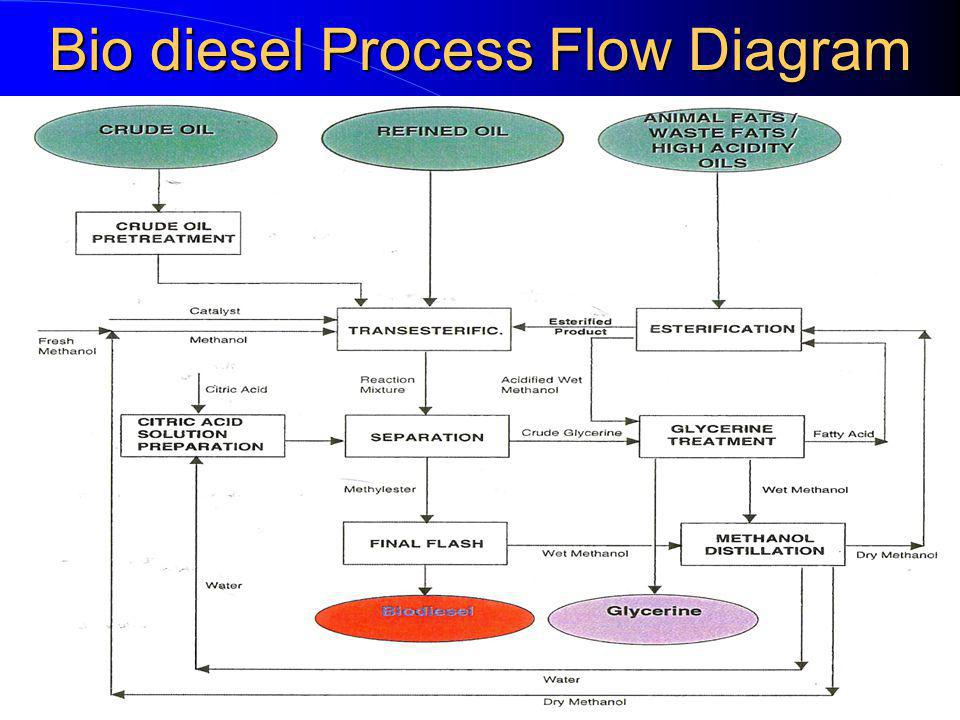 NRRaje Feb 06 Bio diesel Process Flow Diagram
