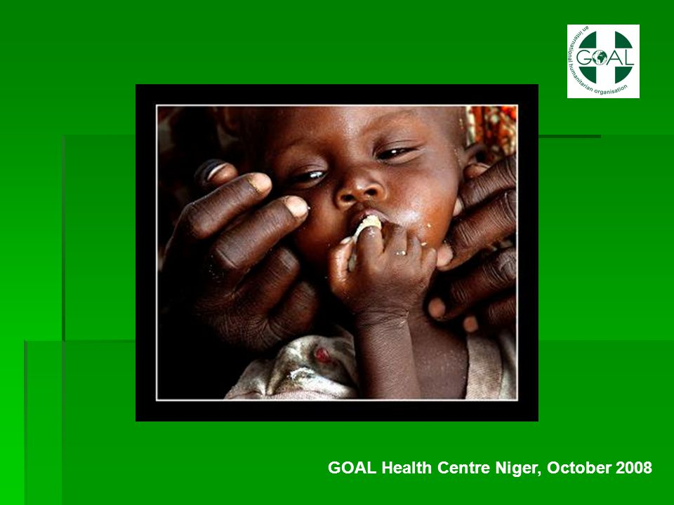 GOAL Health Centre Niger, October 2008