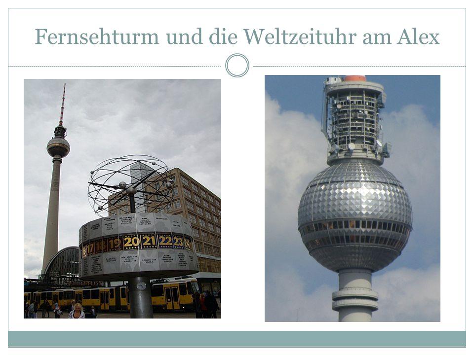 Fernsehturm und die Weltzeituhr am Alex