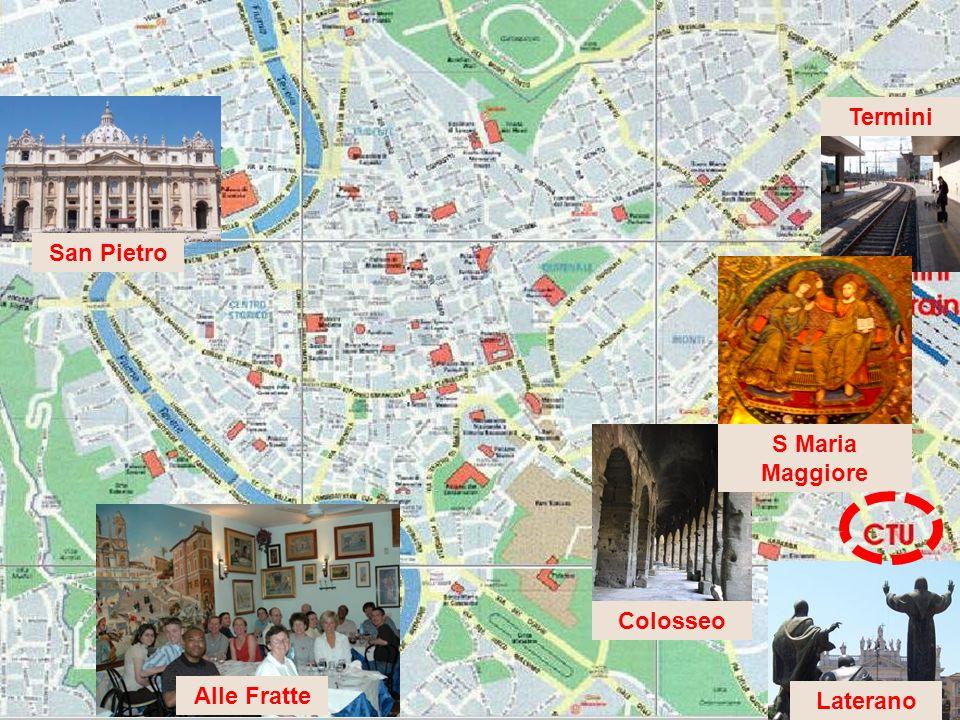 San Pietro Alle Fratte Colosseo Laterano Termini S Maria Maggiore