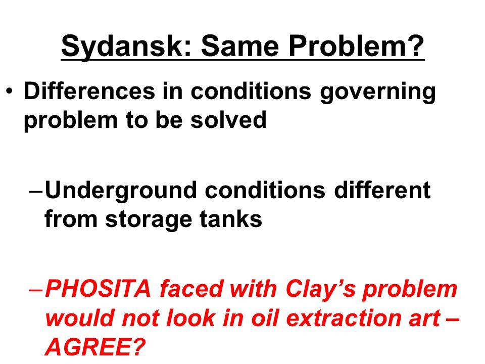 Sydansk: Same Problem.
