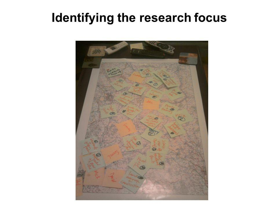 Identifying the research focus
