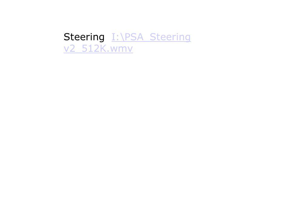 Steering I:\PSA_Steering v2_512K.wmvI:\PSA_Steering v2_512K.wmv