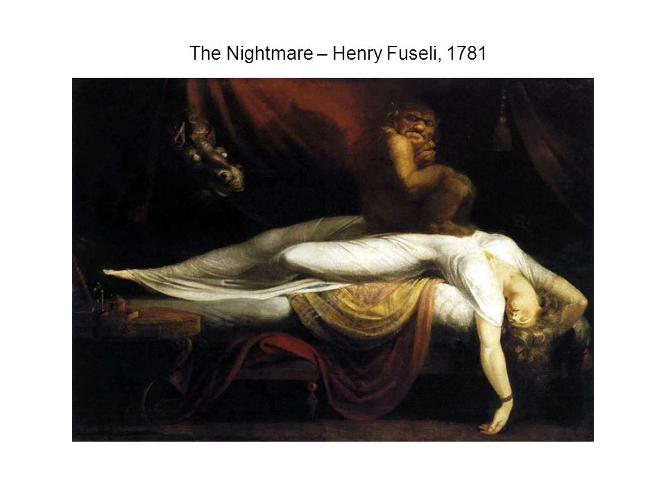 The Nightmare – Henry Fuseli, 1781