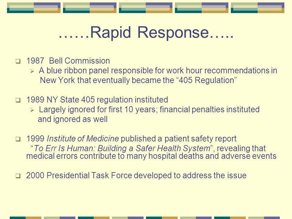 ……Rapid Response…..