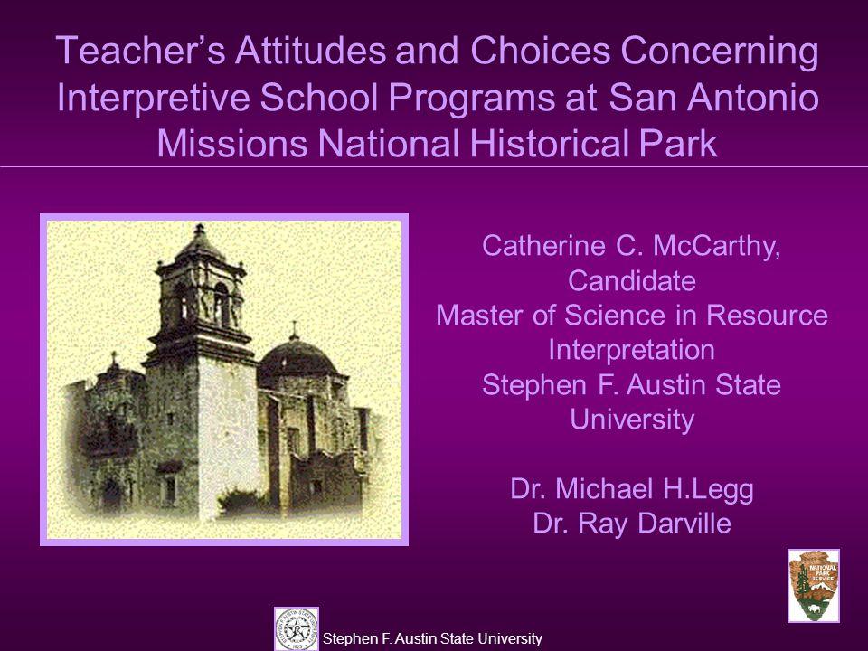 Stephen F. Austin State University Best Part of Program N=58