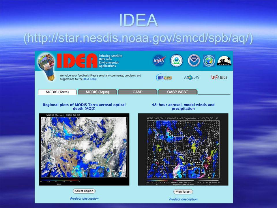IDEA (http://star.nesdis.noaa.gov/smcd/spb/aq/)