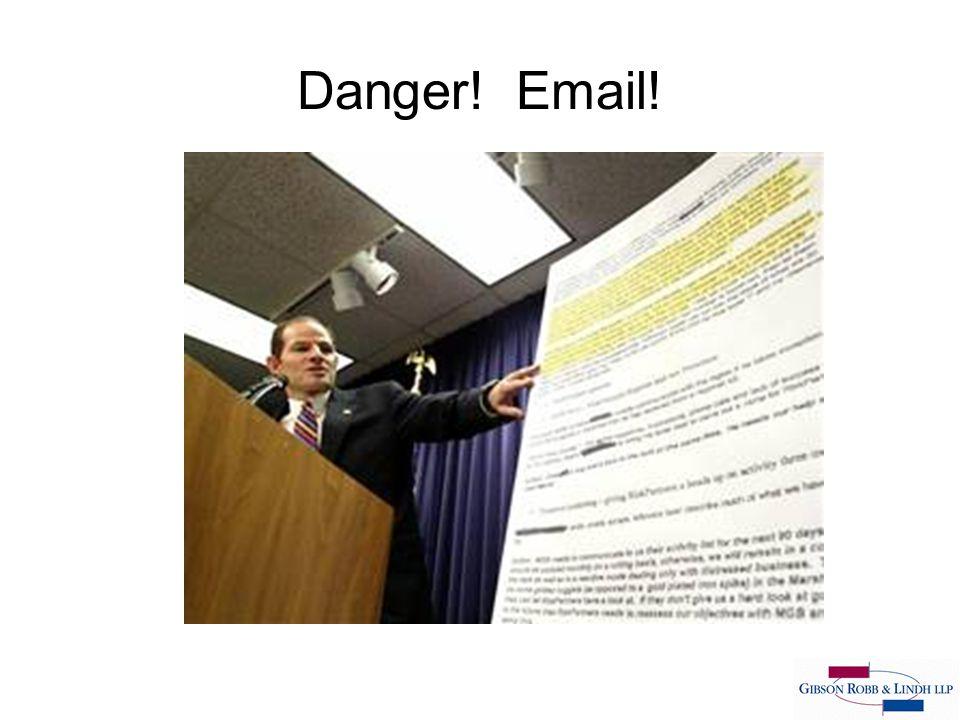 Danger! Email!