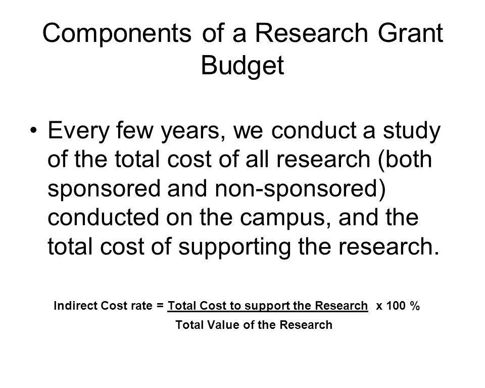 Sponsored Research Incentive (SRI) SRI is a mechanism to provide funds to Departments to support their research mission SRI funds are E&G funds allocated by the VP- Research The funds are distributed based on the net IDC recovery credited to that Department's faculty and researchers during the previous year The amount is calculated at 20% of the net IDC recovery Net IDC recovery is the total IDC less VP-R cost-sharing
