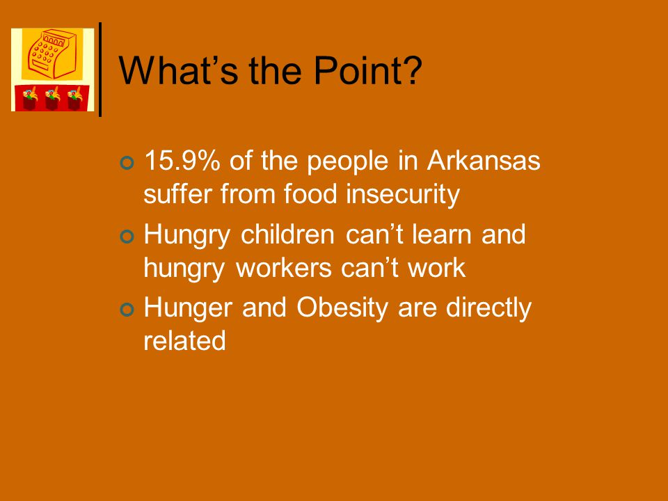 Definitions Food Insecurity Household Food Insecurity Community Food Insecurity
