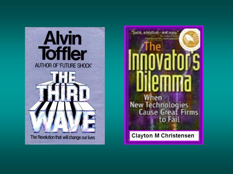 Clayton M Christensen