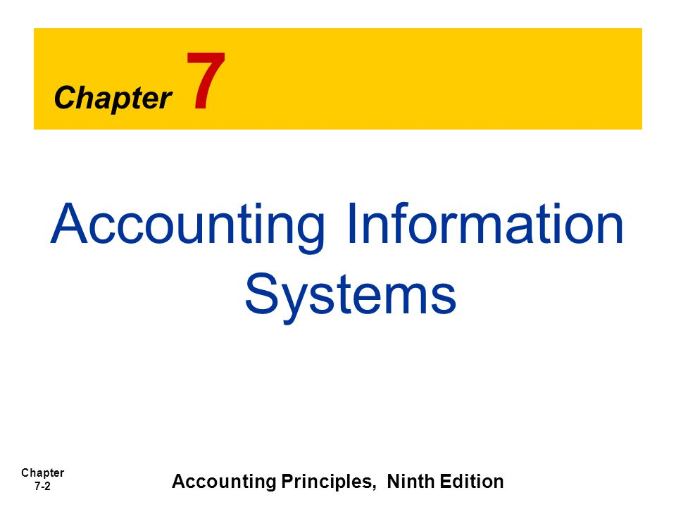 Chapter 7-13 1.Show in a single account transactions affecting one customer or one creditor.