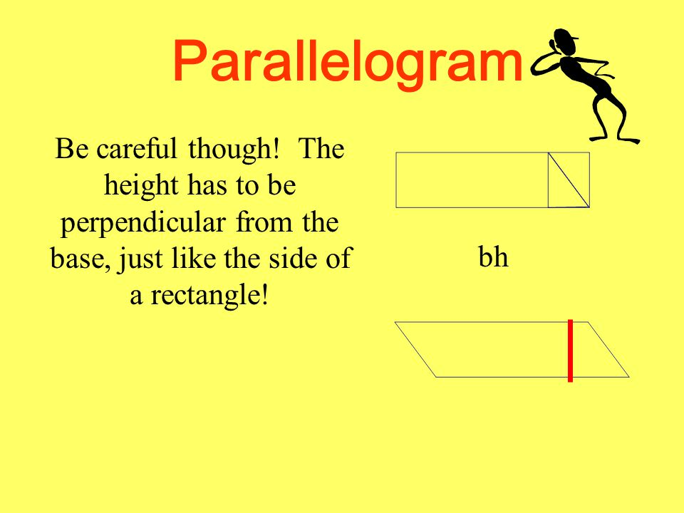 Parallelogram Be careful though.