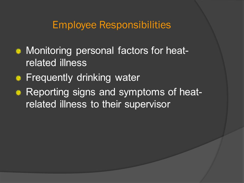 Additional Resources Contact Environmental Health and Safety for heat stress consultation and training at www.ehs.wsu.edu or 335-3041.