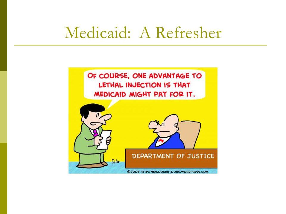 Medicaid: A Refresher