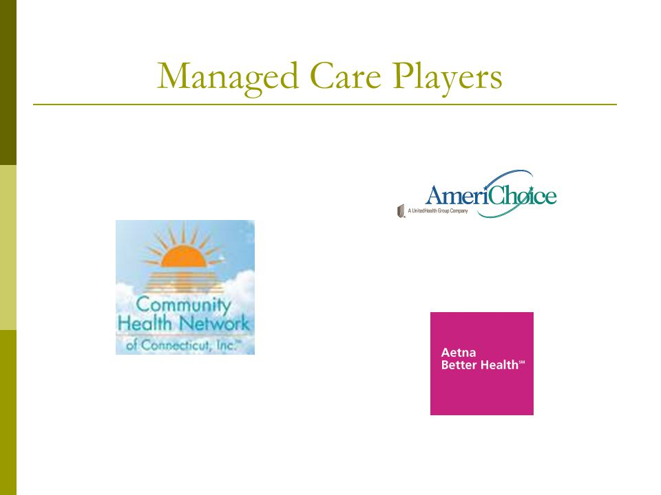 Managed Care Players