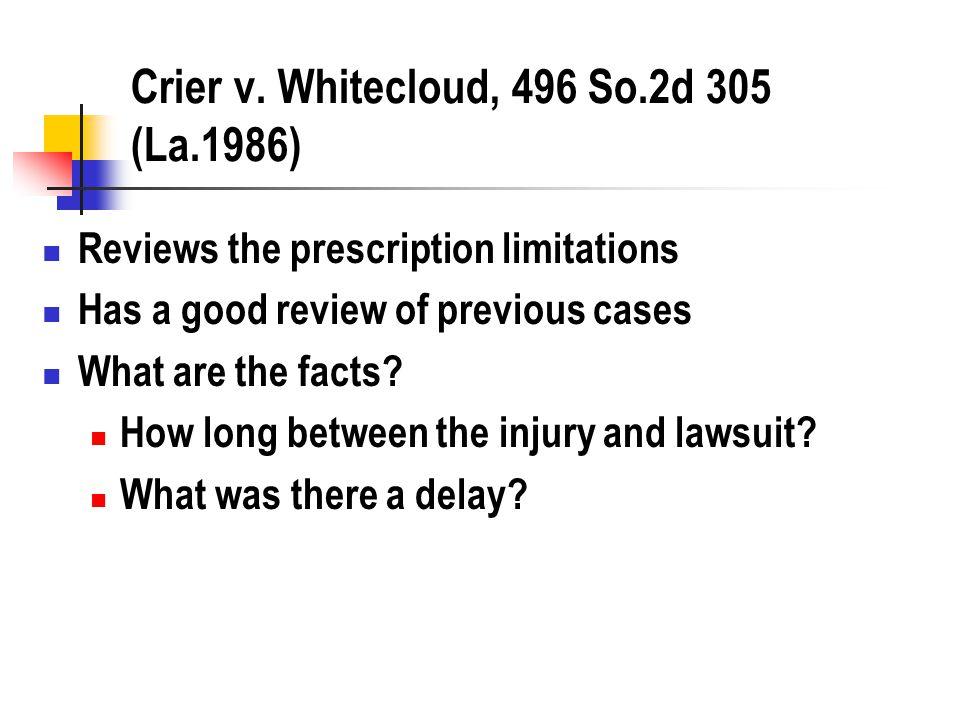 Hebert v.Doctors Memorial Hospital, 486 So.2d 717 (La.
