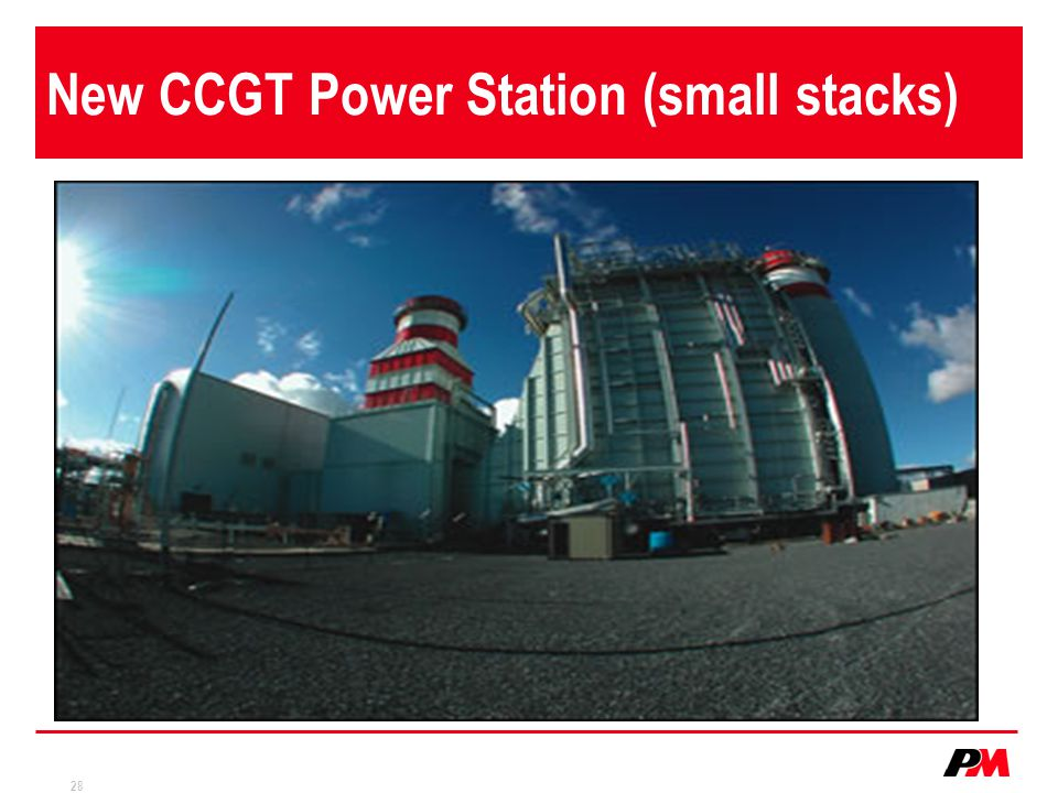 28 New CCGT Power Station (small stacks)