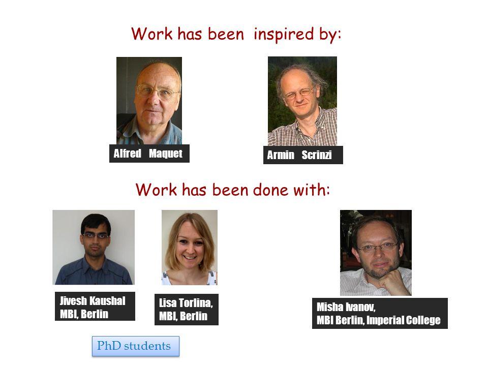 Jivesh Kaushal MBI, Berlin Misha Ivanov, MBI Berlin, Imperial College Lisa Torlina, MBI, Berlin Work has been done with: Work has been inspired by: Al