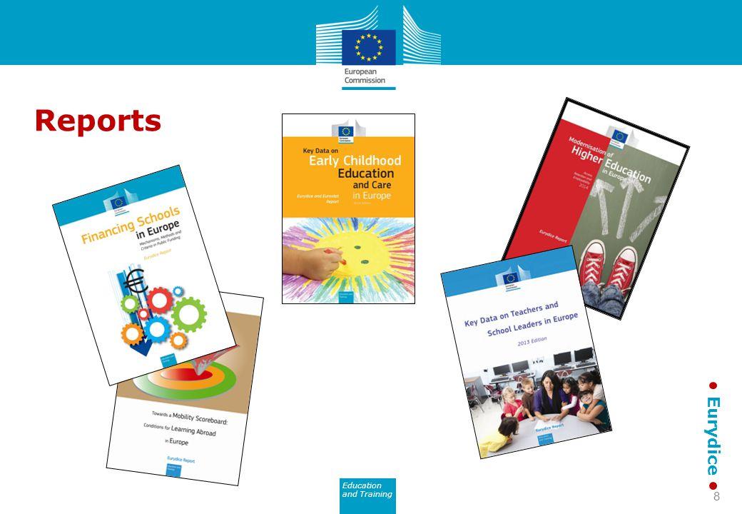 Education and Training Eurydice Reports 8