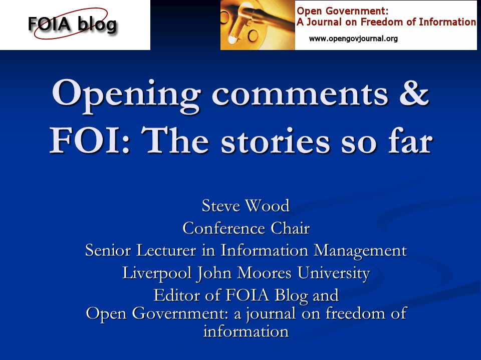 FOI and the media: the story so far The number of FOI stories in UK Press mentioning the word Freedom of Information Act The number of FOI stories in UK Press mentioning the word Freedom of Information Act January 2005: 175 January 2005: 175 February 2005: 264 February 2005: 264 March 2005: 198 March 2005: 198 April 2005: 90 April 2005: 90 May 2005: 90 May 2005: 90 June 2005: 92 June 2005: 92 July 2005: 78 July 2005: 78 August 2005: 82 August 2005: 82 After initial surge of interest - steady usage and reporting in the National media After initial surge of interest - steady usage and reporting in the National media Data taken from searches using Lexis-Nexus Professional Data taken from searches using Lexis-Nexus Professional