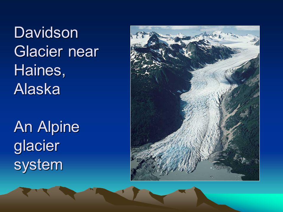 U-Shaped Valley in Tracy Wilderness, Southeastern Alaska