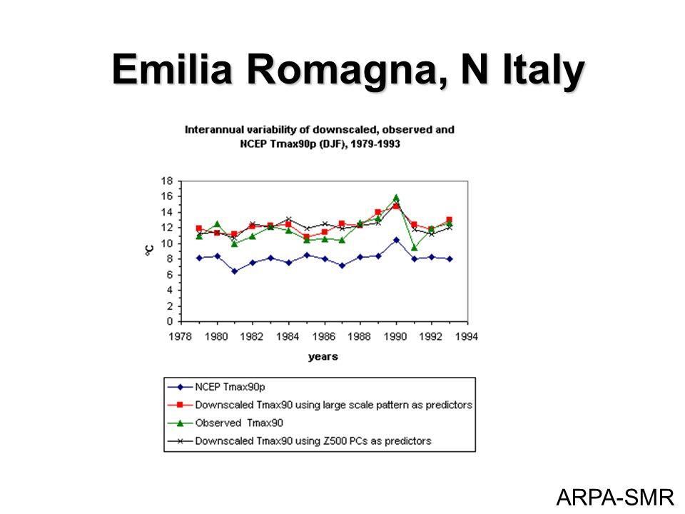 Emilia Romagna, N Italy ARPA-SMR