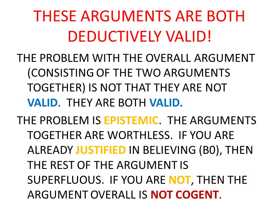 BUT HOW, EXACTLY, DOES DESCARTES' ARGUMENT COMMIT THIS FALLACY.