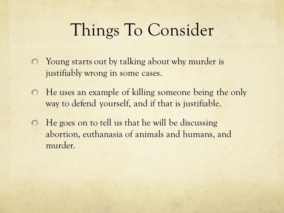 Is Animal Killing Justified.