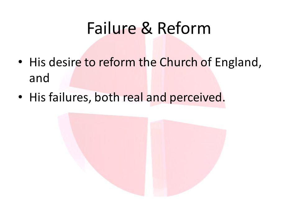 Failure & Reform