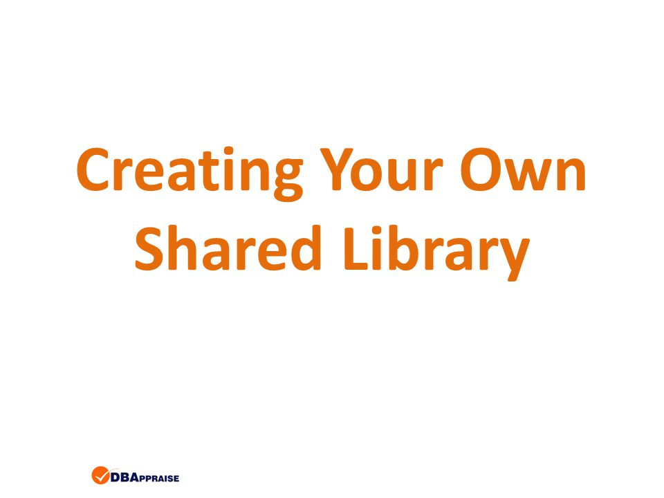 Creating Your Own Shared Library