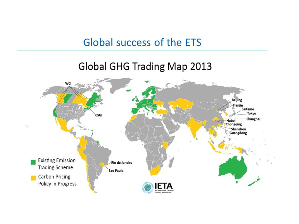 Global success of the ETS