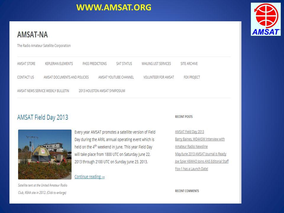 WWW.AMSAT.ORG