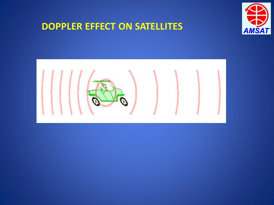DOPPLER EFFECT ON SATELLITES
