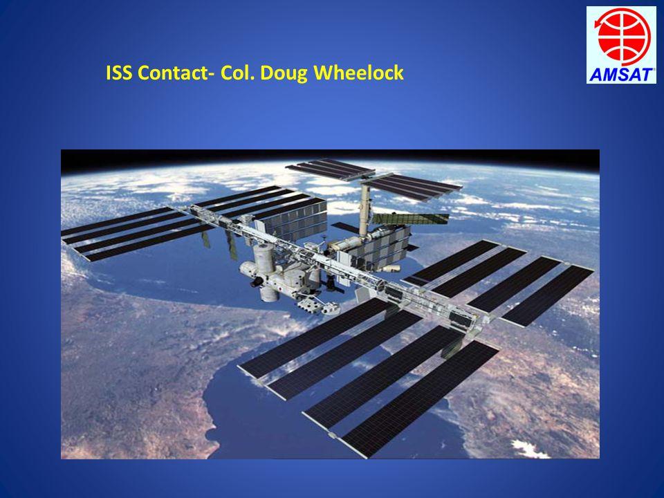 ISS Contact- Col. Doug Wheelock