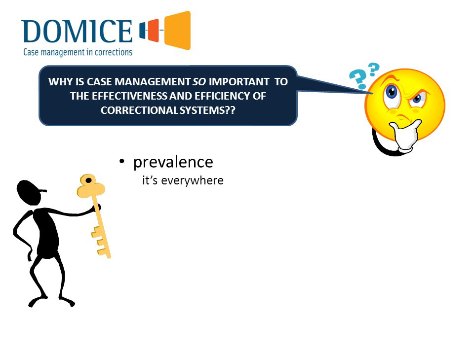 WHY IS CASE MANAGEMENT SO IMPORTANT TO THE EFFECTIVENESS AND EFFICIENCY OF CORRECTIONAL SYSTEMS?.