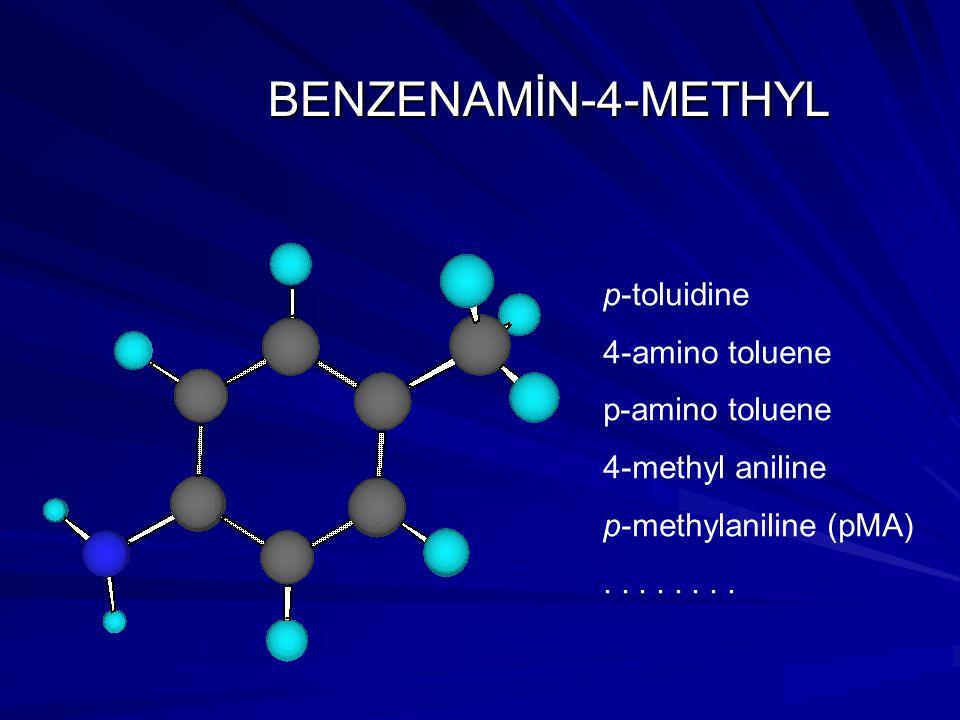 m-methylaniline (mMA) p- methylaniline (pMA) N C H H H C molecular structures