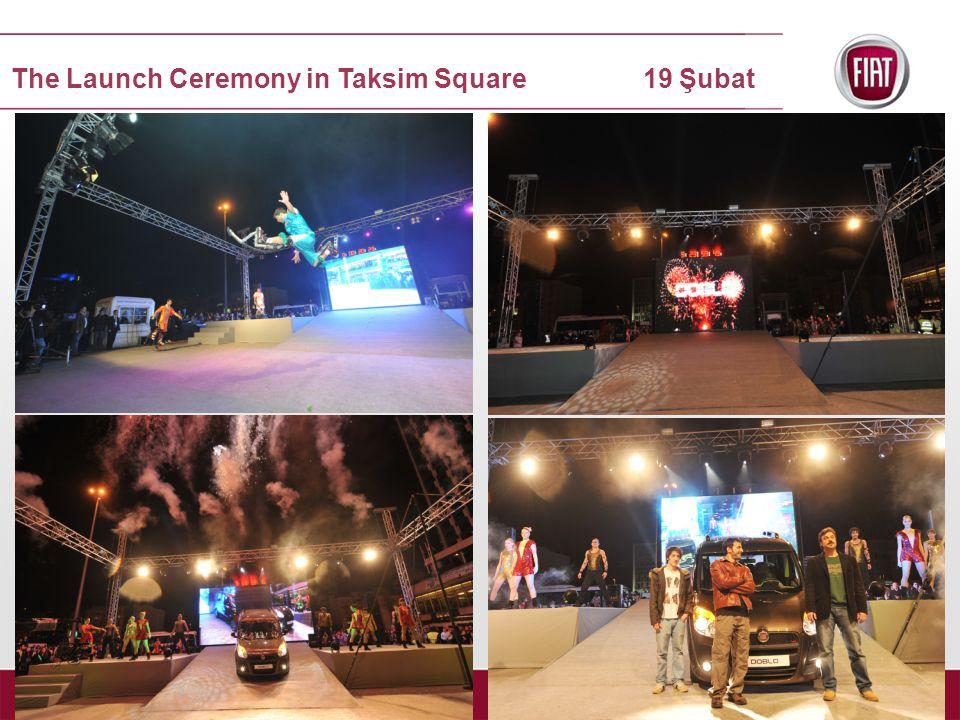 The Launch Ceremony in Taksim Square 19 Şubat