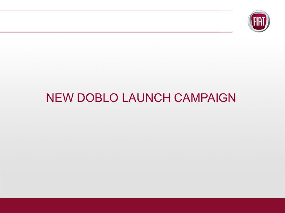 NEW DOBLO LAUNCH CAMPAIGN