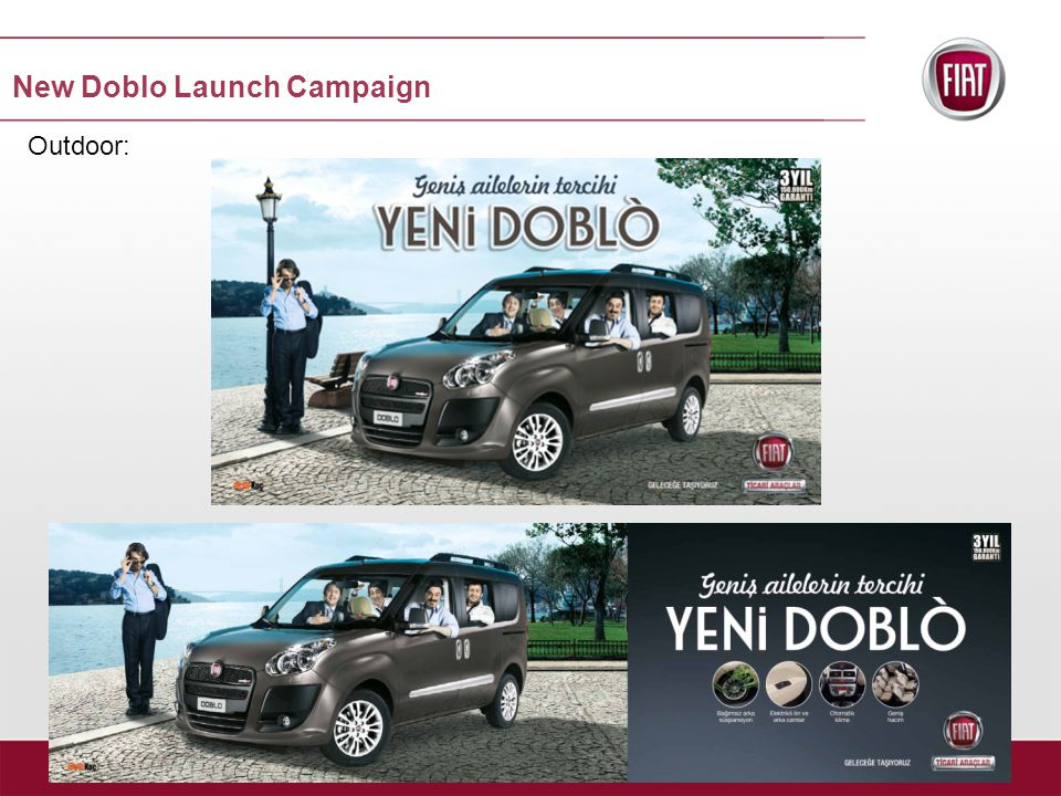 Outdoor: New Doblo Launch Campaign