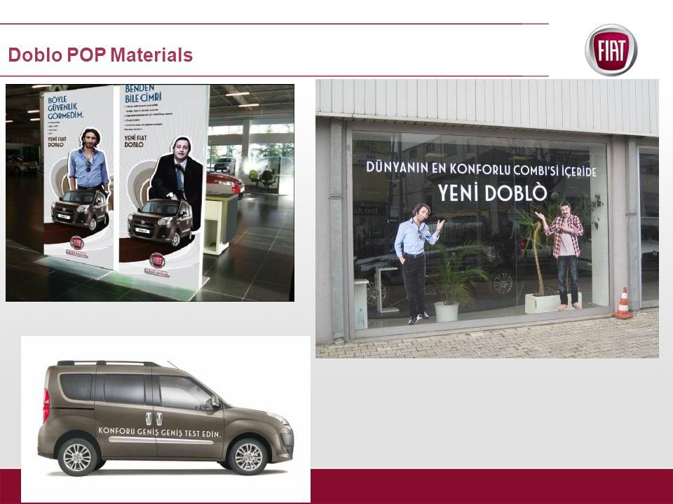 Doblo POP Materials