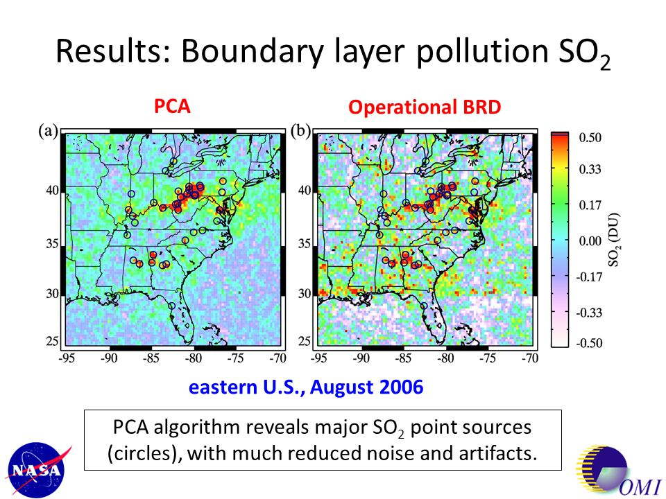 Results: Daily boundary layer SO 2 August 13, 2006 August 14, 2006 August 15, 2006August 16, 2006