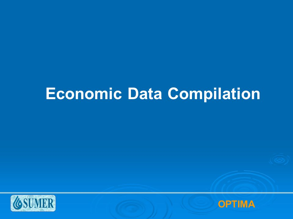 Economic Data Compilation