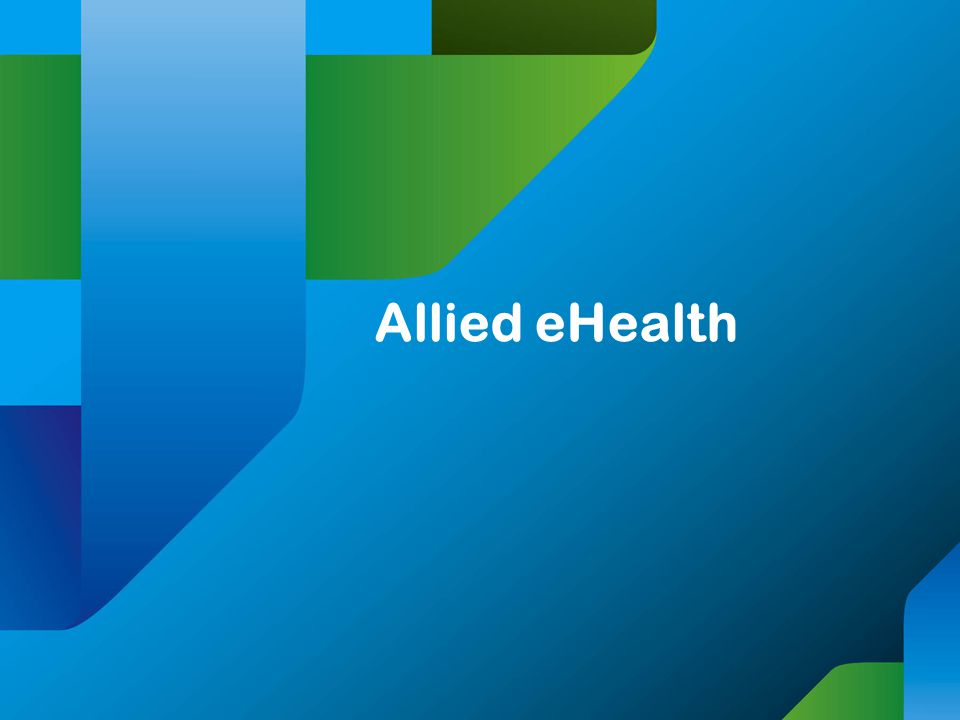 Allied eHealth