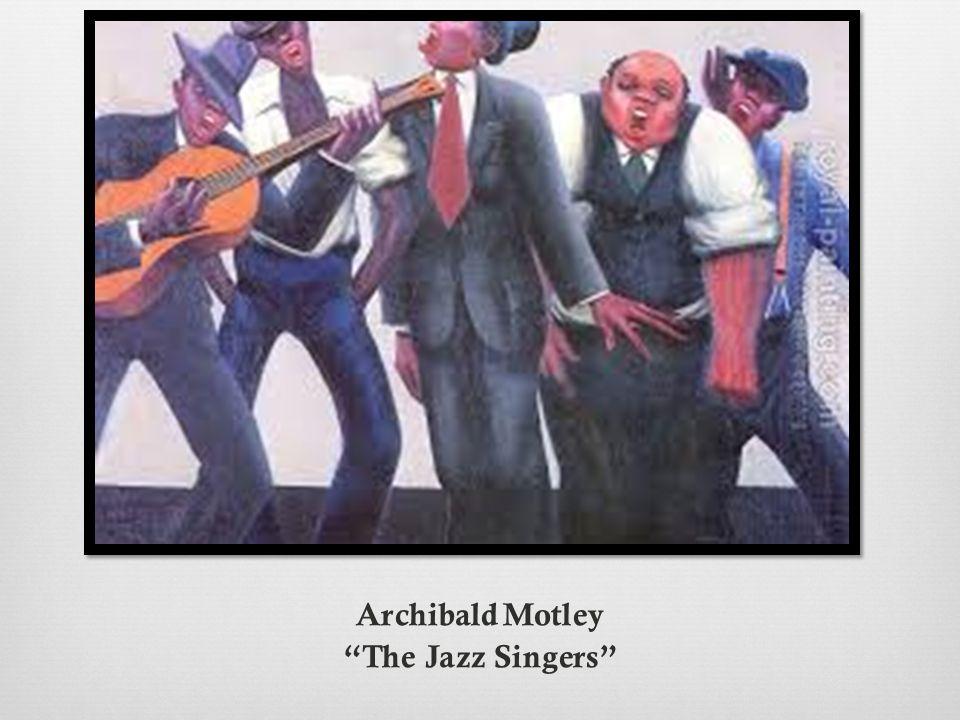 "Archibald Motley ""The Jazz Singers"""