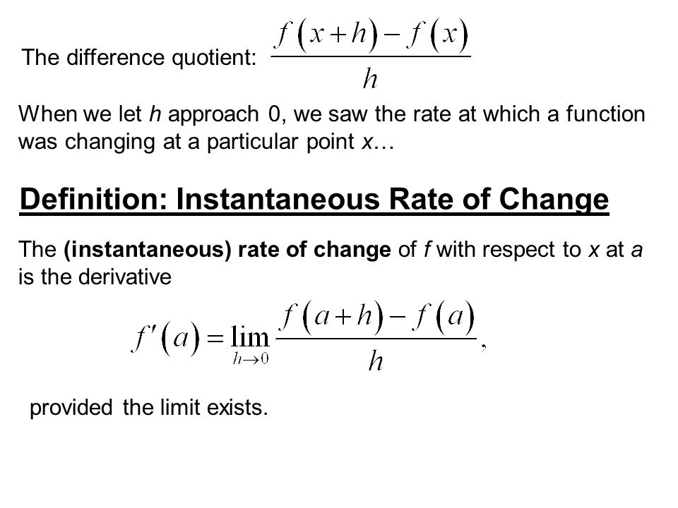 Example 1: Enlarging Circles (a) Find the rate of change of the area A of a circle with respect to its radius r.
