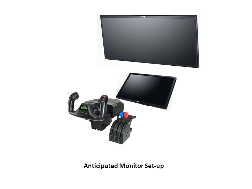 Anticipated Monitor Set-up
