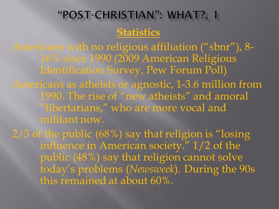 20 th Century losses Prohibition Public prayer (ca.