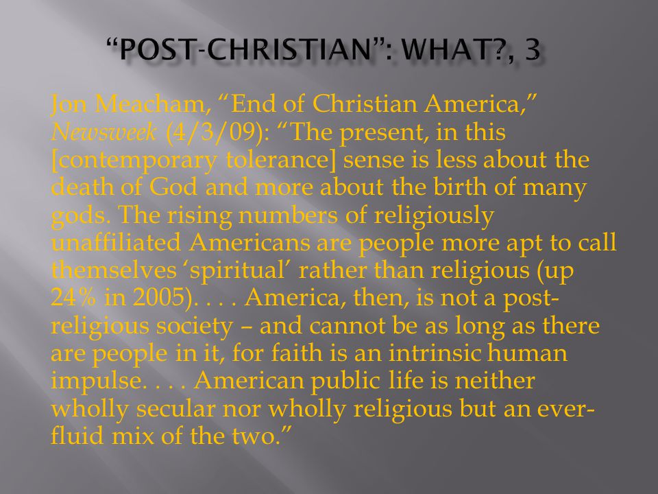 1.What is a Christian nation . member of political process.